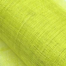 30% Off Chartreuse Green Sinamay